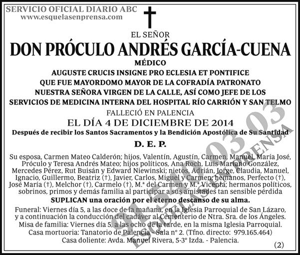 Próculo Andrés García-Cuena